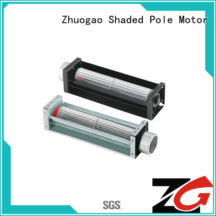 Zhuogao durable dc cross flow fan owner for electric refrigerator