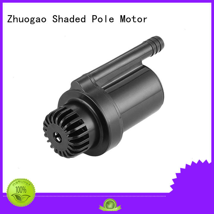 Quality Zhuogao Brand dc powered water pump adjusted conditioner