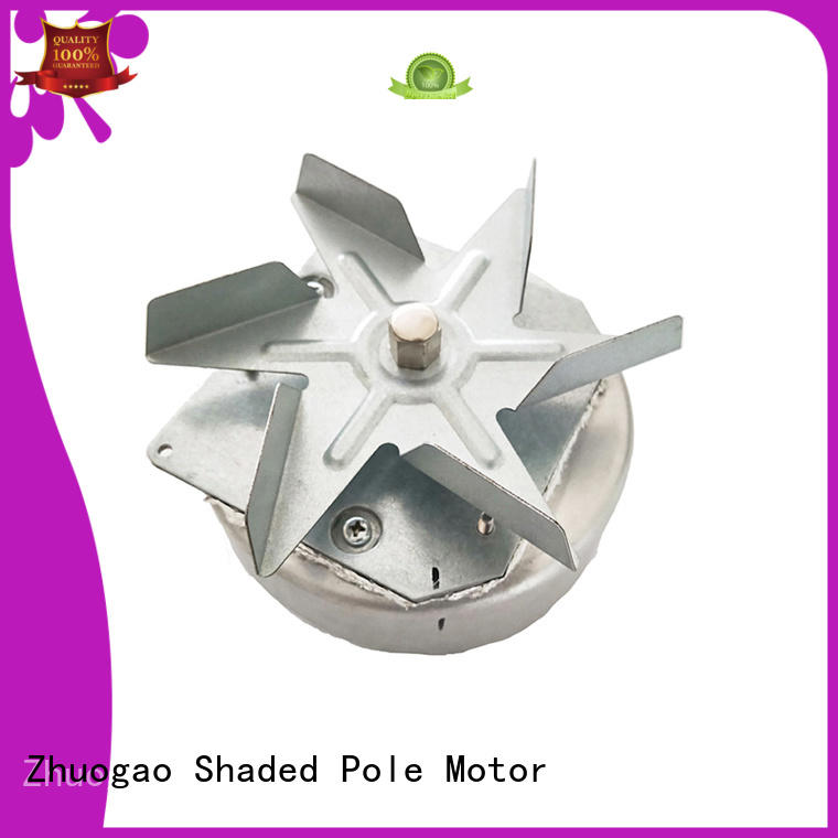 black power air volume low Zhuogao Brand ac shaded pole motor manufacture