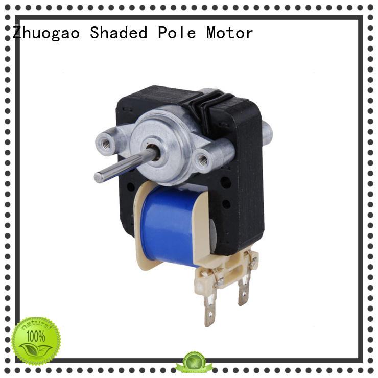 freeze motors Electric fan motor Zhuogao Brand