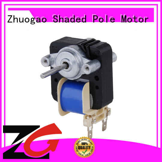 Zhuogao widely used bathroom exhaust fan motor series for oven