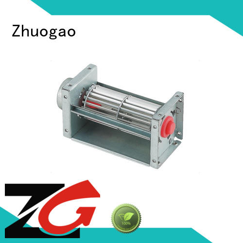 Zhuogao 6vdc24vdc dc cooling fans manufacturer for fanheater