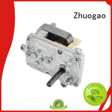 grill machine customized Zhuogao Brand ac gear motor 60 rpm factory
