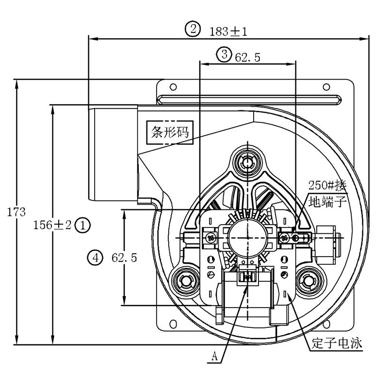 Zhuogao (with centrifugal fan customized for gas boiler-13