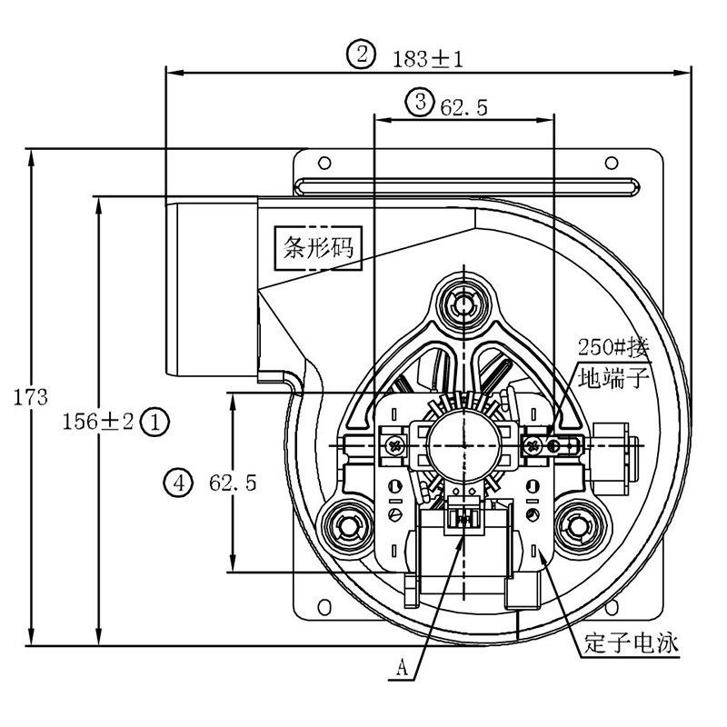 Zhuogao (with centrifugal fan customized for gas boiler