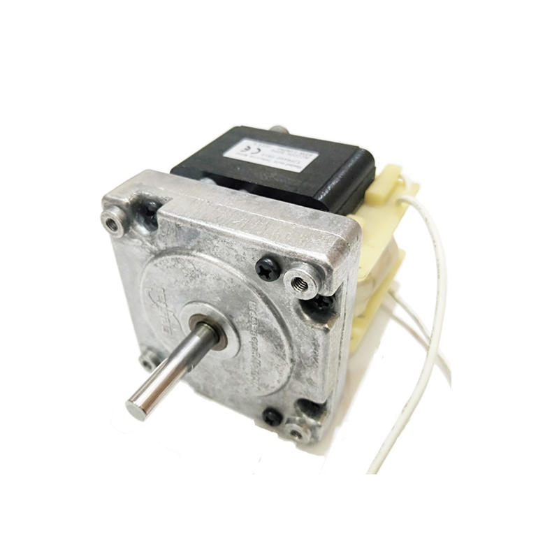 Customized ac gear motor with hall sensor for animal feeding system,14RPM