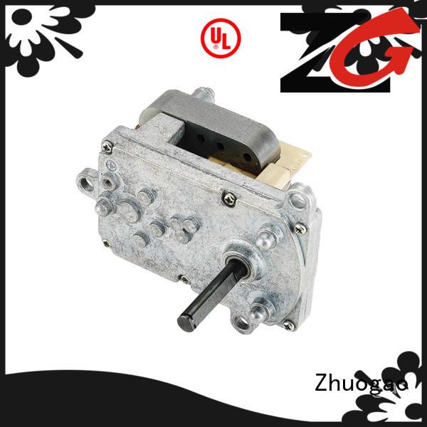 efficient gear motor low supplier for BBQ machine