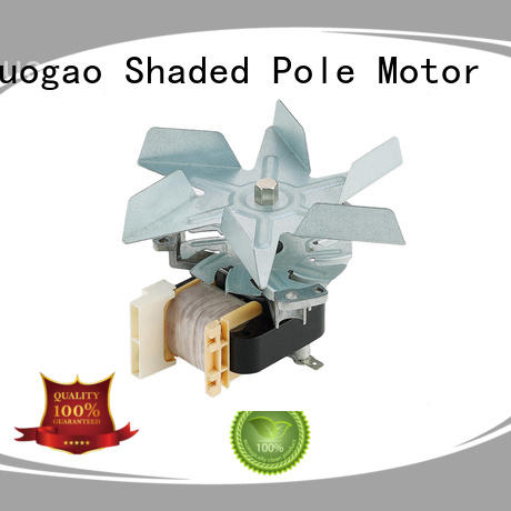 volumelow Oven fan motor bulk production for gas oven Zhuogao