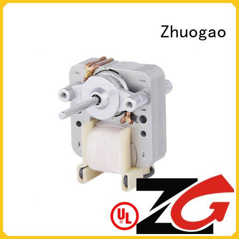 Zhuogao high efficiency air fryer fan motor manufacturer for electric refrigerator