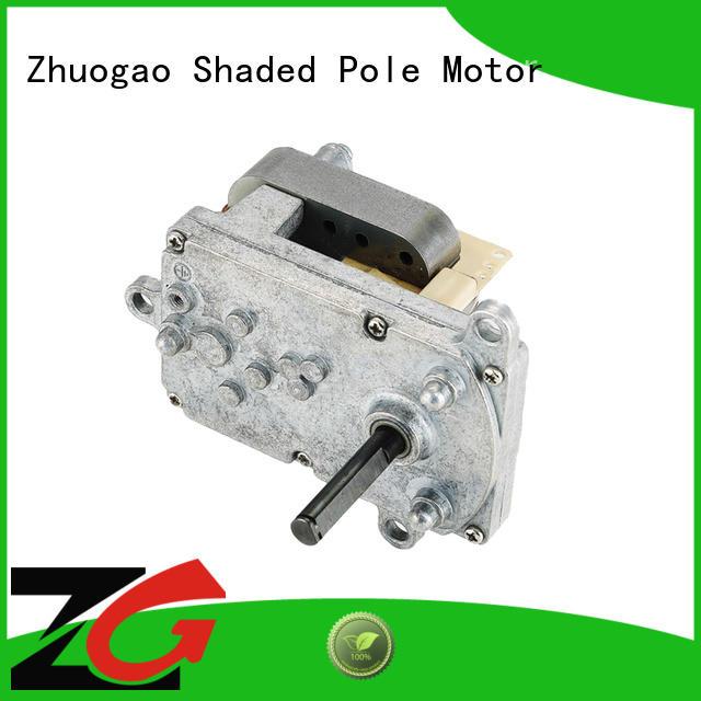 Zhuogao customized ac gear motor grab now for BBQ machine