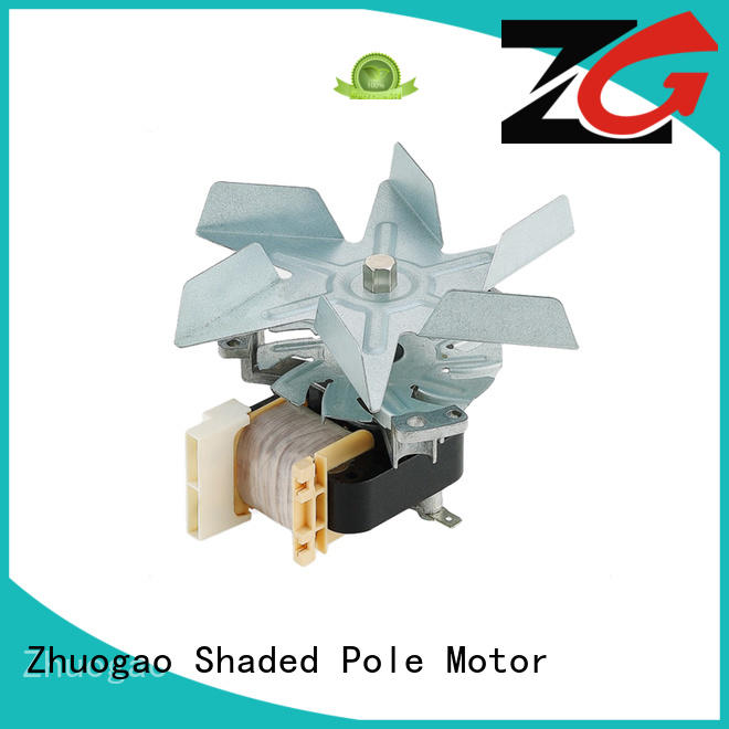 Zhuogao made shaded pole fan bulk production for micro oven