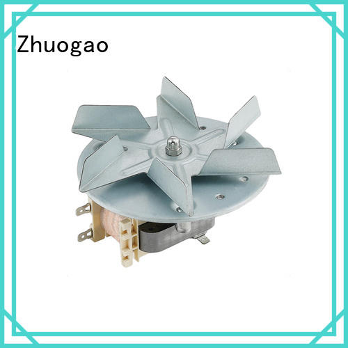 Zhuogao sealed shaded pole motor fan in china for micro oven