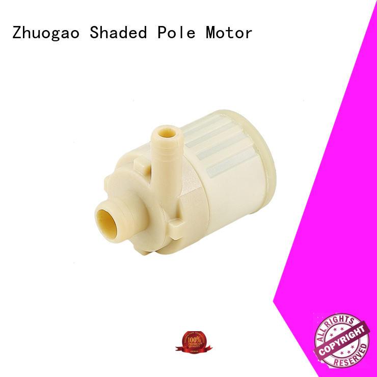 Zhuogao Brand model aluminum dc water pump manufacture