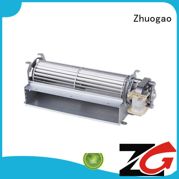 cross flow fan suppliers customized element Zhuogao Brand cross flow fan