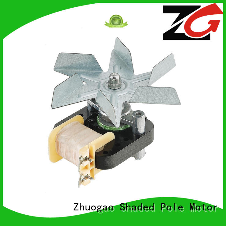 Zhuogao efficient shaded pole exhaust fan in china for cooler