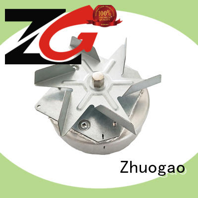 Ac shaded pole motor for refrigerator/small chest cooler,  Black plastic gel sealed,customized,model YJ61-20