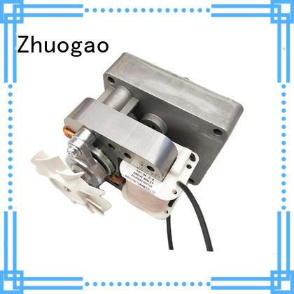 Zhuogao barbecue micro gear motor from china for meat grill