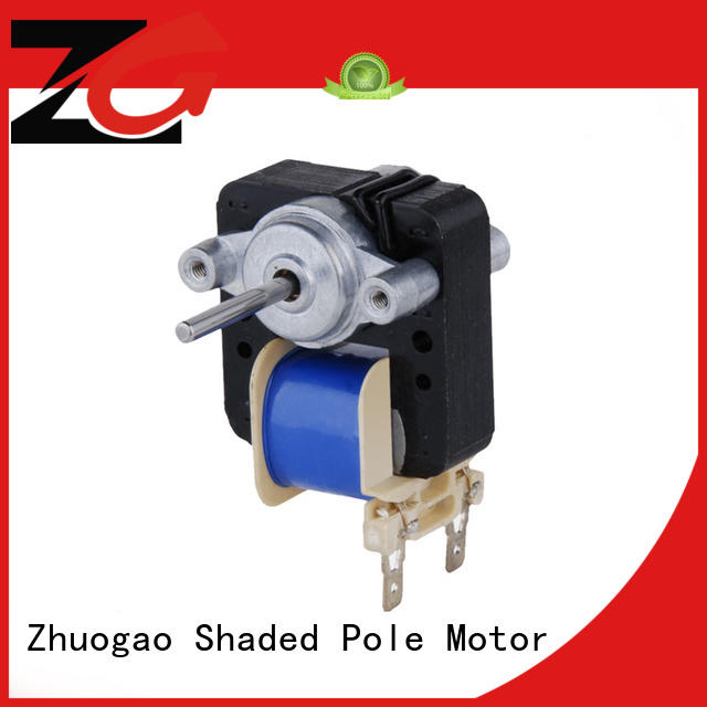 phase size motors bathroom exhaust fan motor Zhuogao Brand