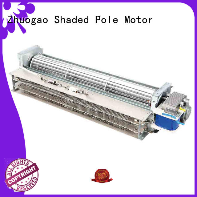mica cross flow blower heater electric Zhuogao company