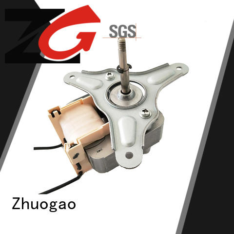 Zhuogao professional shaded pole ac gear motor bulk production for stove pellet