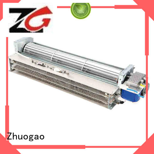 ptc cross flow fan cross for oven Zhuogao