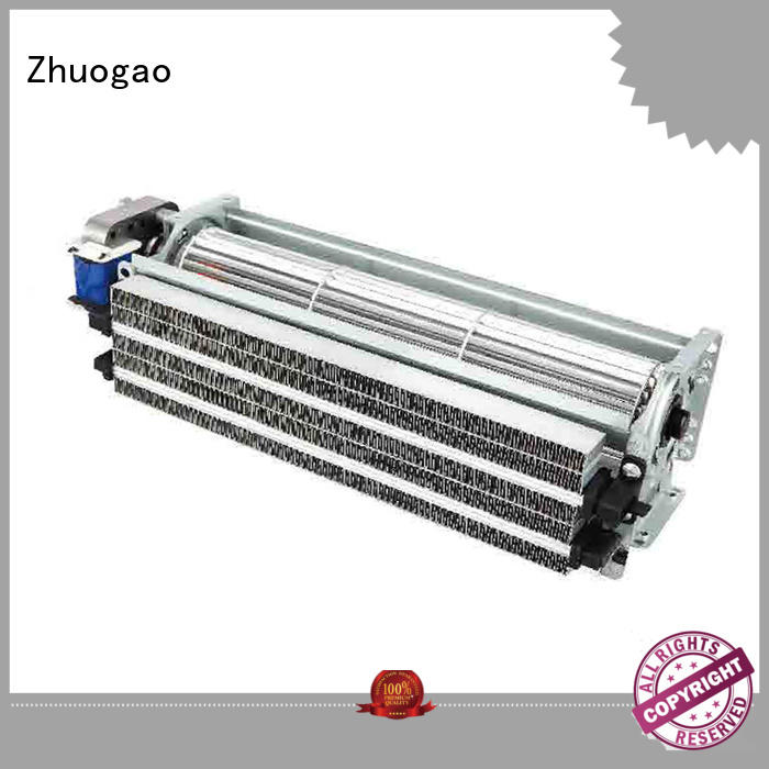 blower size fireplace cross flow blower heater Zhuogao Brand
