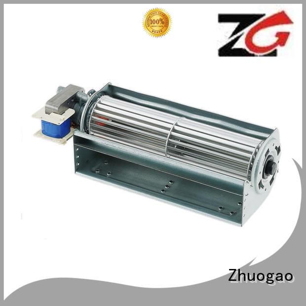size element fireplace cross flow fan Zhuogao