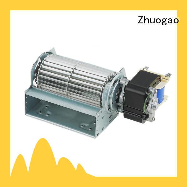Zhuogao lightweight cross fan supplier for electric fireplace