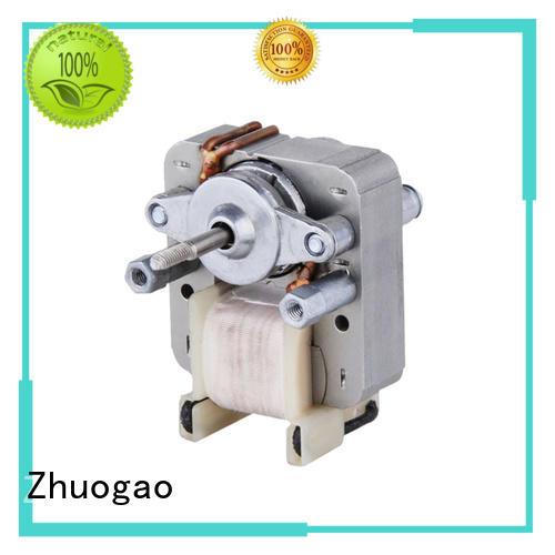 Zhuogao Brand electric Electric fan motor motors supplier