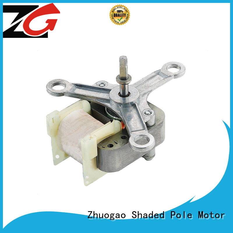 Zhuogao lightweight shaded pole ac gear motor series for micro oven