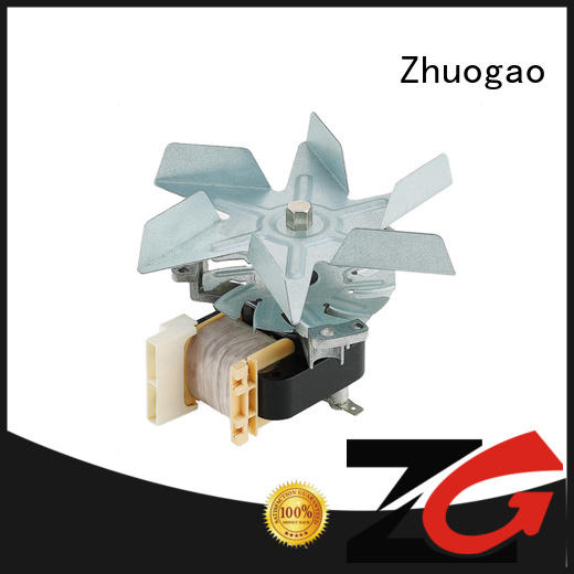 High temperature oven fan motor with stainless steel impeller H grade big air volume 1000-2500RPM,model YJ61-20
