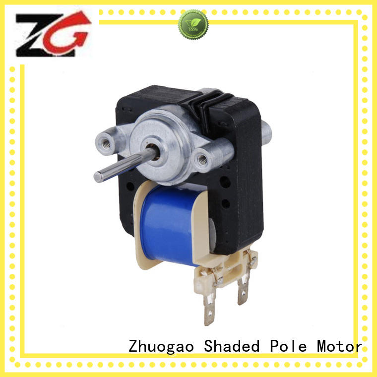 size single phase Zhuogao Brand Electric fan motor manufacture