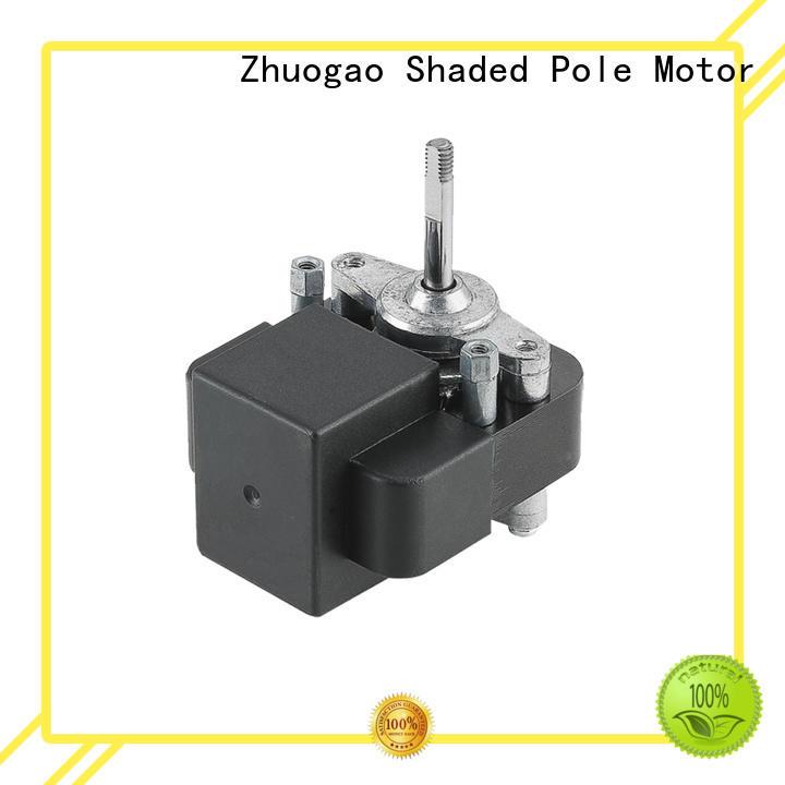 black steamer phase shaded pole fan motor vibration Zhuogao Brand