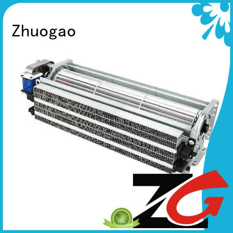 flow electric fireplace with fan heater fan for cabinet Zhuogao