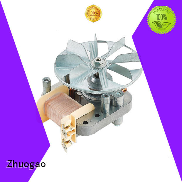 Zhuogao Brand chest refrigerator small oven shaded pole fan motor