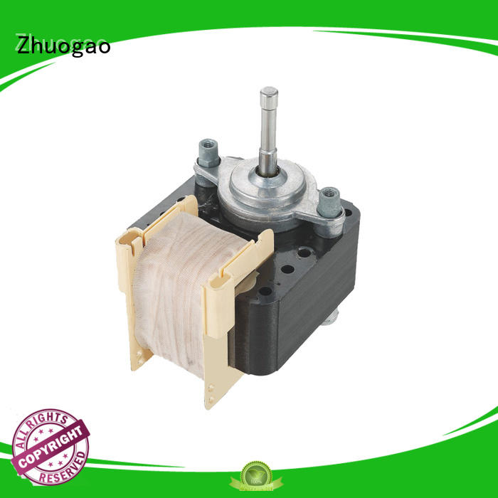 Wholesale cooker customized dryer shaded pole fan motor Zhuogao Brand
