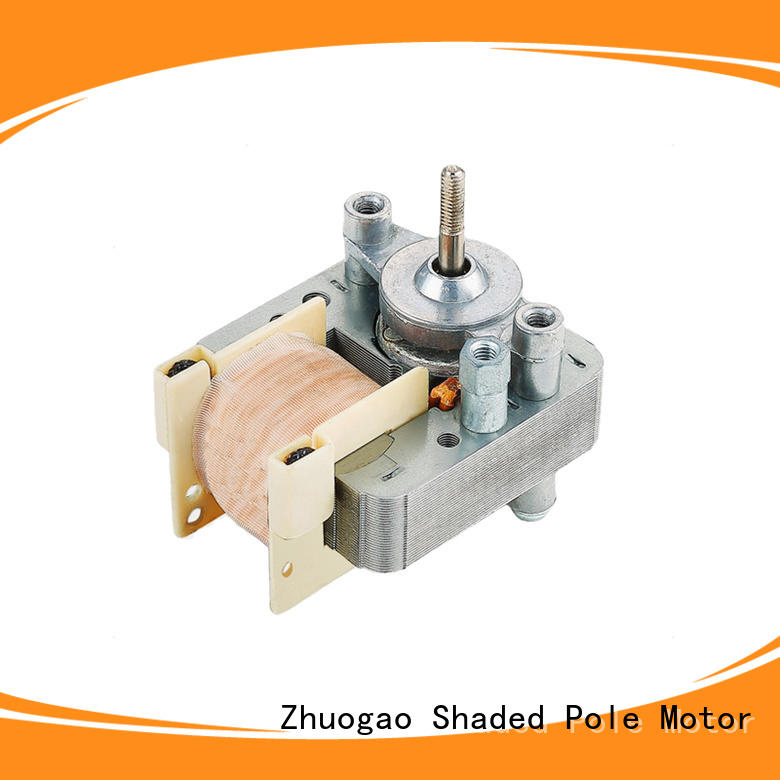 Zhuogao professional bathroom exhaust fan motor for manufacturer for electric refrigerator