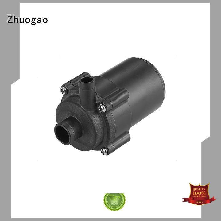 Custom rate dc water pump wash Zhuogao