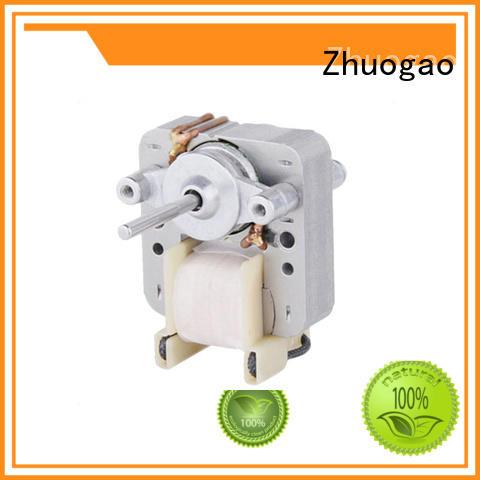 Electric fan motor speed Zhuogao Brand bathroom exhaust fan motor