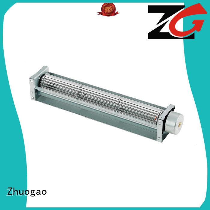 gas power dc cross flow fan air heater Zhuogao company