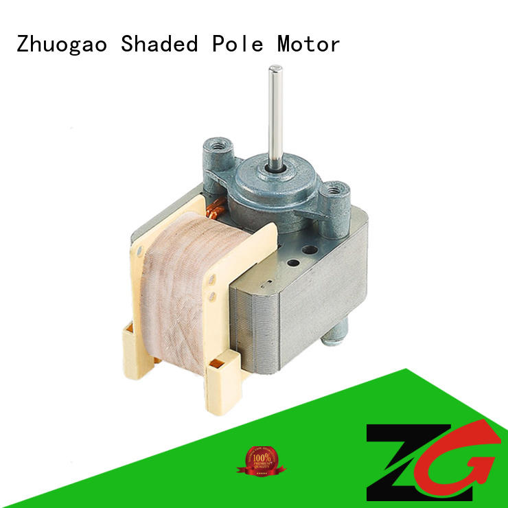 electric volume Electric fan motor Zhuogao manufacture
