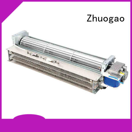 Zhuogao blower electric fireplace with fan heater supplier for disinfection