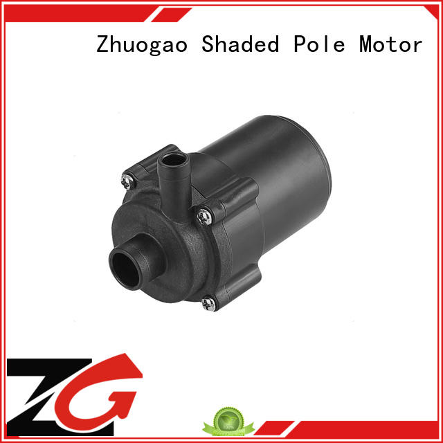 vibration dc powered water pump flow machine Zhuogao Brand