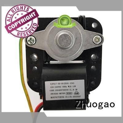 shaded pole motor fan sealedcustomizedmodel for cooler Zhuogao