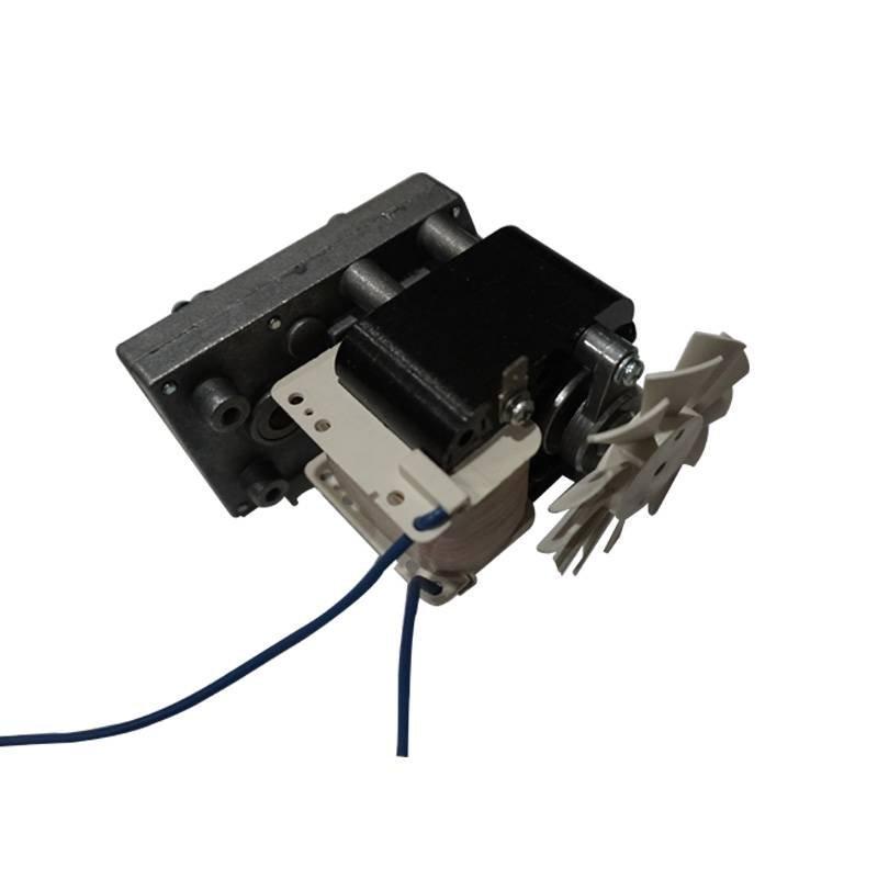 AC motor with gear box