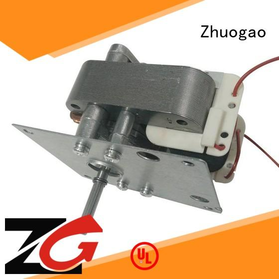 Zhuogao range shaded pole fan motor manufacturer for halogen oven