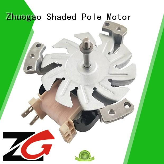 Zhuogao widely used shaded pole motor producer for microwave