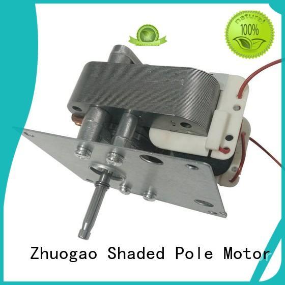 ac shaded pole fan motor cabinet ovengas Zhuogao company
