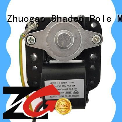 Zhuogao refrigeratorsmall Oven fan motor supplier for halogen oven
