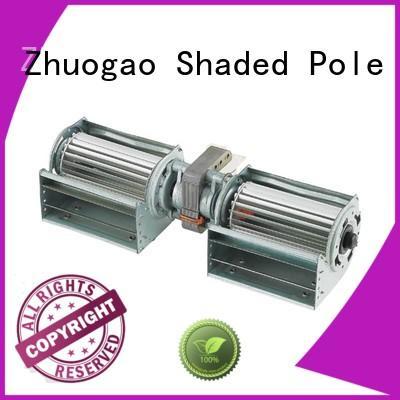 electric element heating Zhuogao Brand cross flow fan suppliers factory